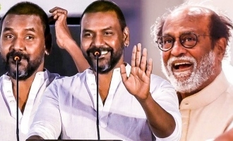 Raghava Lawrence clarifies regarding Kamal troll controversy at the 'Darbar' audio launch