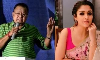 Nayanthara trolls Radha Ravi through video