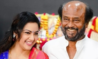 Meena shares a lovely nostalgic memory with Superstar Rajnikanth!