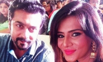 Suriya reacts to Meera Mitun in his uniqe style