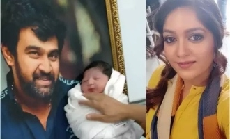 Meghana Raj gives her newborn baby a pet name in memory of her late husband