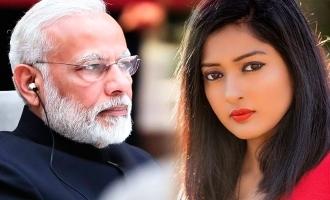 Narendra Modi's special message to Gayathri Raghuram