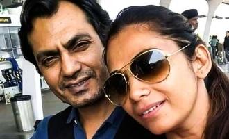 விவாகரத்து முடிவெடுத்த 'பேட்ட' நடிகரை மனைவியுடன் சேர்த்து வைத்த கொரோனா!