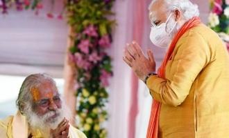 Ayodhya Ram Temple Trust Head who was with PM Modi Tests Corona positive!