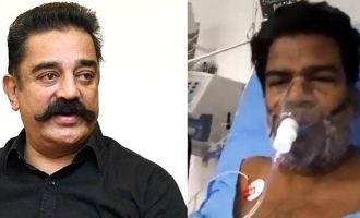 Ponnambalam hospitalized with serious ailment- Kamal Haasan extends a helping hand
