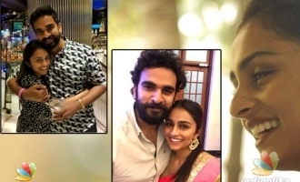 Pragathi Guruprasad's cool reaction to question about Ashok Selvan