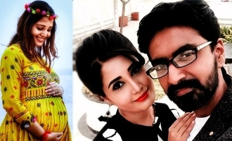 Actor Prajin and Sandra blessed with twin girls!