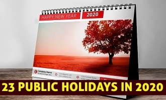 23 public holidays in 2020: Tamil Nadu Government releases list
