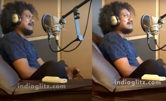 டப்பிங்கின் போது கதறி அழுத 'குக் வித் கோமாளி' புகழ்: வைரல் வீடியோ