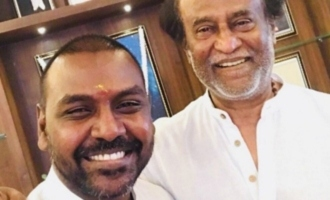 Lawrence comes in support of Superstar Rajnikanth!