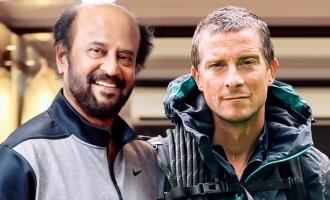 Breaking! Superstar Rajinikanth in  Man vs Wild?