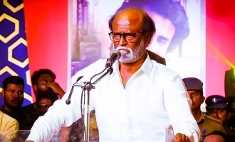 """I won't apologize!"" says Superstar Rajnikanth!"