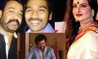 Rajini, Mohan Lal , Dhanush and Rekha are relatives - Lockdown timepass trivia