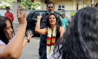 Ramya Pandian gets grand welcome after Bigg Boss 4 - video turns viral!