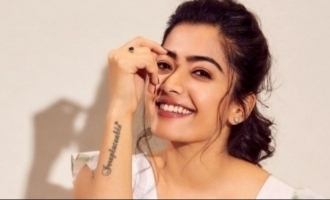 What did Rashmika Mandanna steel from a hotel - video goes viral