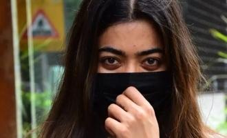 Rashmika Mandanna gets kissed nonstop in car pics go viral