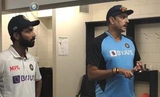 Head coach Ravi Shastri's praises team after India's historic win!