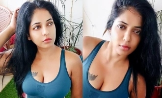 பிக்பாஸ் தமிழ் நடிகை வெளியிட்ட ஹாட் வொர்க்-அவுட் வீடியோ
