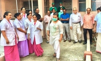 Kerala nurse who recovered from Corona says she's ready to return to corona ward!