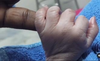 சாண்டி மாஸ்டரின் இரண்டாவது குழந்தை: வைரல் வீடியோ