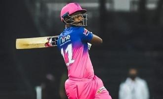 IPL Carnival Match report: CSK Vs RR  Sanju Samson's all-round blitz sinks CSK
