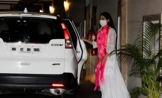 Dhanush's heroine gets tested for Coronavirus infection!