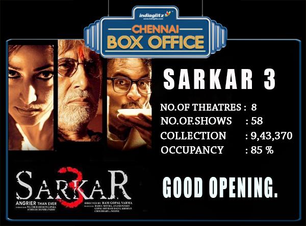 Chennai Box Office Status (May 12th - May 14th) - Tamil News