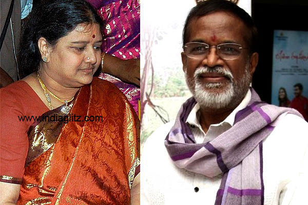 Gangai Amaran explains how Sasikala forcefully took his land - Tamil