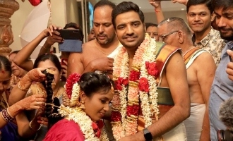 Actor Sathish gets married - Pictures and details here