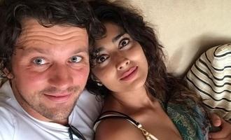 Shriya Saran's lovely romantic photos with husband turns viral!