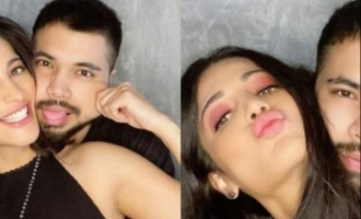 Shruti Haasan pens a poem of love after drenching in her boyfriend's art