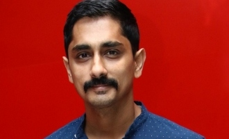 Siddharth depressed by water crisis, lashes out at TN government!