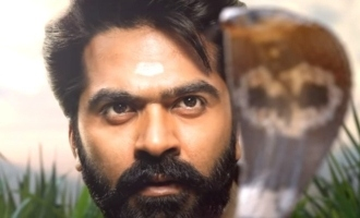 Simbu's next movie stunning mass first look and title released!