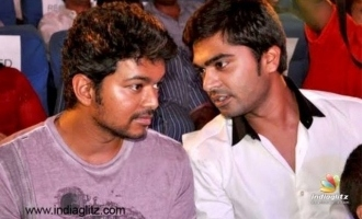 Simbu's lovable reaction to Thalapathy Vijay's 'Kutty Story'