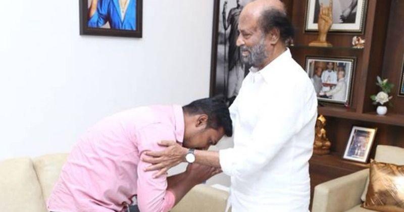 Rajini consoles Kundrathur Abirami family!