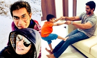 Soundarya Rajnikanth shares cute moment with her son and husband!