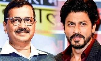 Don't thank, give a command says Shahrukh to Arvind Kejriwal!