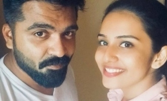 Who is this pretty girl with Simbu?