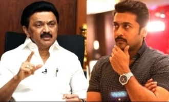 Suriya quotes Kalaigniar Karunanidhi in his congratulatory message to CM M.K. Stalin