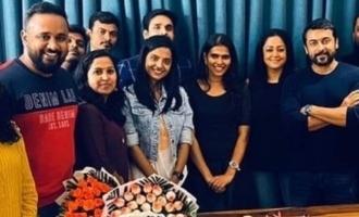 'சில்லுக்கருப்பட்டி' இயக்குனருக்கு சிறப்பு பரிசு கொடுத்த ஜோதிகா!