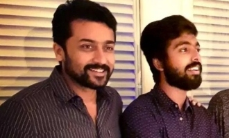 G.V. Prakash gives the much awaited happy news to Suriya fans