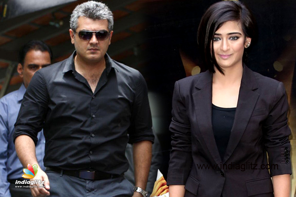 Kamals Daughter With Ajith Kumar In Ak 57 Tamil Movie News
