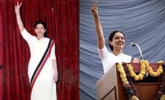 'தலைவி' ரிலீஸ் தேதி: கங்கனா ரனாவத் வெளியிட்ட வீடியோ வைரல்!