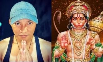 World famous action hero Tony Jaa feels Hanuman is the biggest superhero