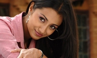 Trisha's cute click with her new friend turns viral!