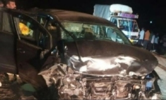 Three persons killed in Actress-politician's car accident