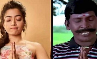 Rashmika Mandanna's cute reply about Vadivelu