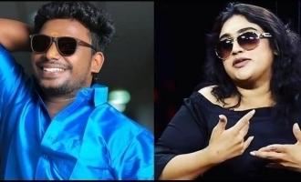 Nanjil Vijayan denies apologizing to Vanitha Vijayakumar and gives her a strong warning