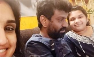 Vanitha Vijayakumar shares pics of her daughter and Peter Paul to silence critics