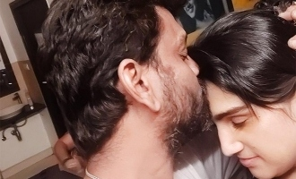 Vanitha Vijayakumar gives new definition for kiss